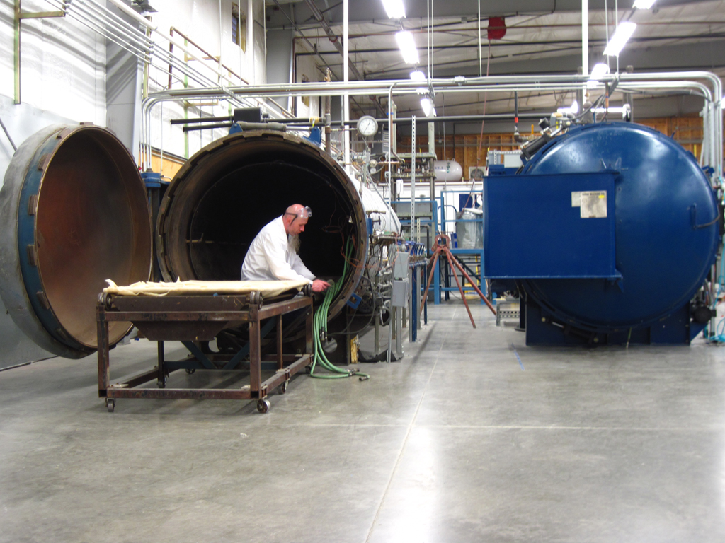 curing manufacturing Kitsap Composites