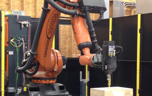 Kuka KR-90 7-Axis Robotic Milling Cell