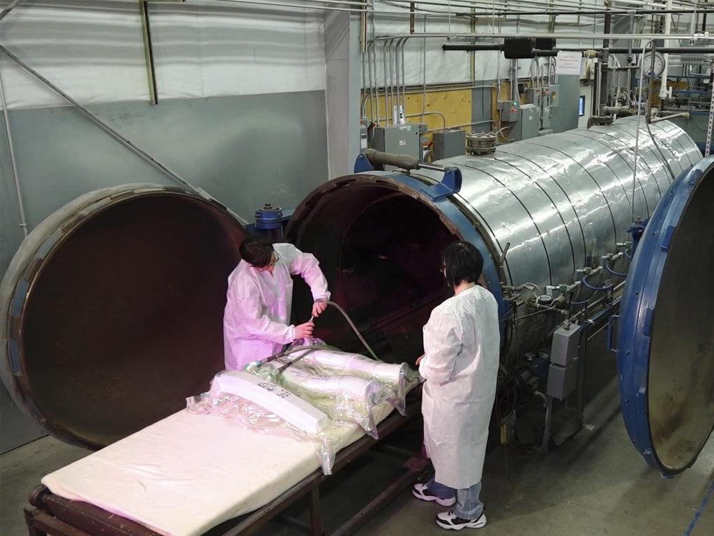 autoclave curing manufacturing Kitsap Composites